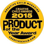 Milkies Freeze Creative Child Awards 2015 Product of the Year Award