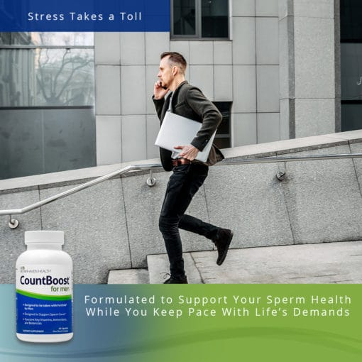 CountBoost for Men - Stress Takes a Toll