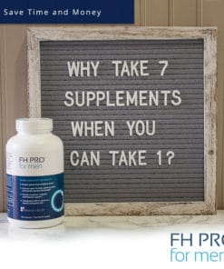 FH PRO Men - Why Take 2 Supplements