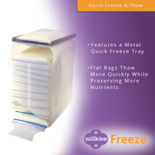 Milkies Freeze - Quick Freeze and Thaw