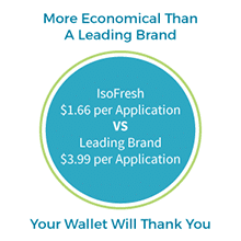 IsoFresh Gel - More Economical Than a Leading Brand