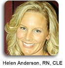 Helen Anderson, RN, CLE