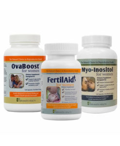 Hormone Balance Bundle - OvaBoost, FertilAid for Women, Myo-Inositol
