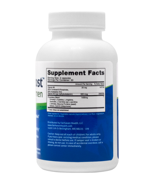 MotilityBoost Supplement Facts