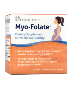 Myo-Folate Drink Mix for Fertility